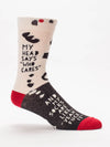 My Head Says Who Cares Men's Socks
