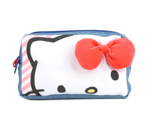 Hello Kitty Twin Zip Pouch