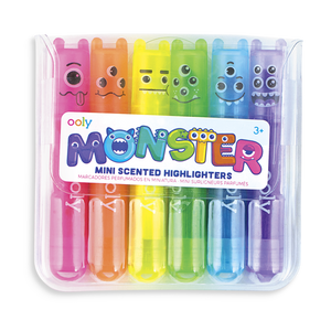Mini Monster Scented Markers by Ooly - PIQ