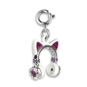 Charm It - Kitty Ears Headphones Charm - PIQ