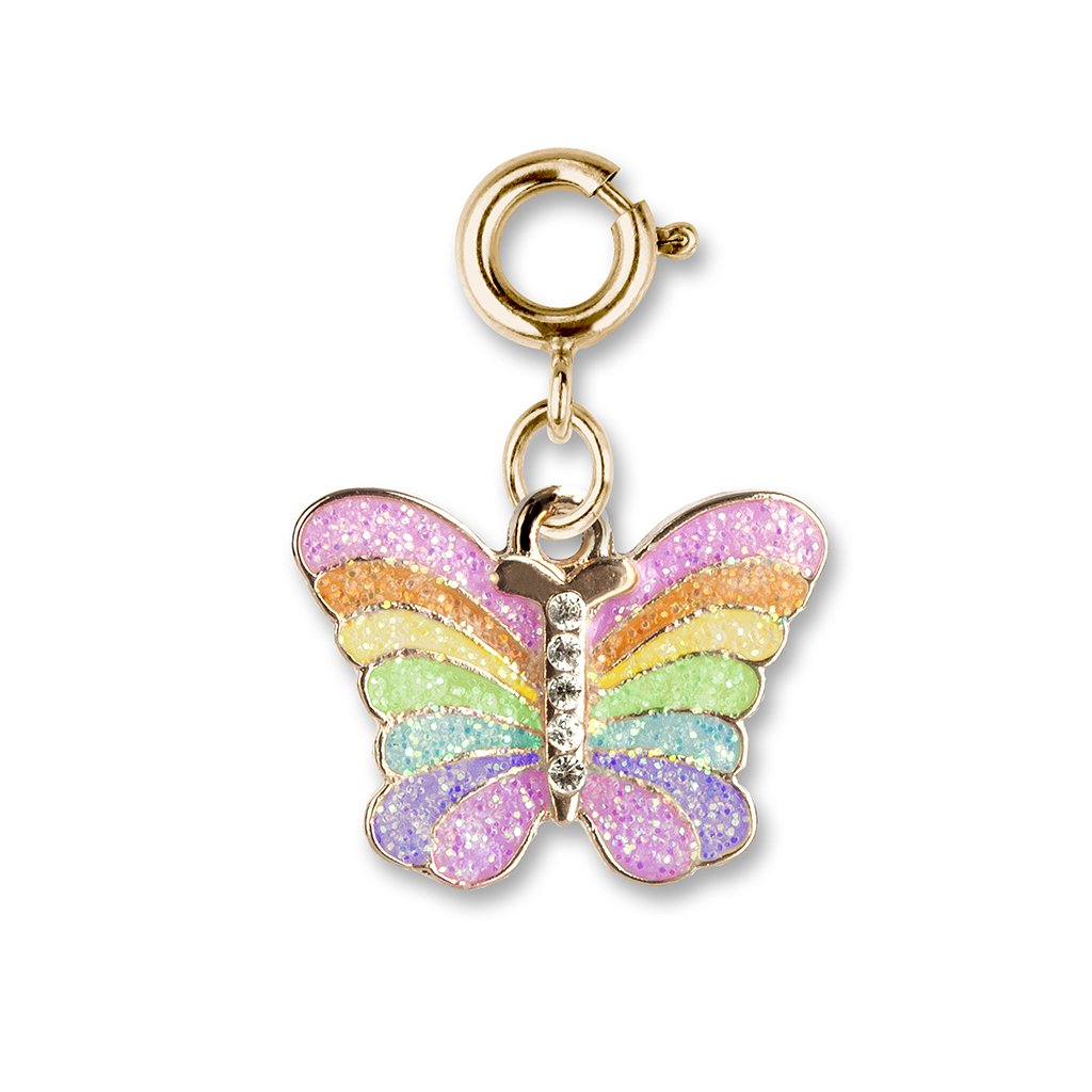 Charm It - Gold Butterfly Charm - PIQ