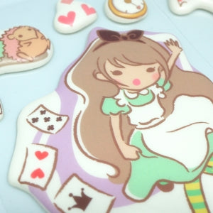 Funny Sticker World - Puffy Large Alice Stickers Blue