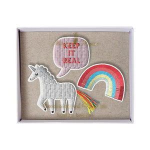 Meri Meri Unicorn Brooches Set of 3 - PIQ