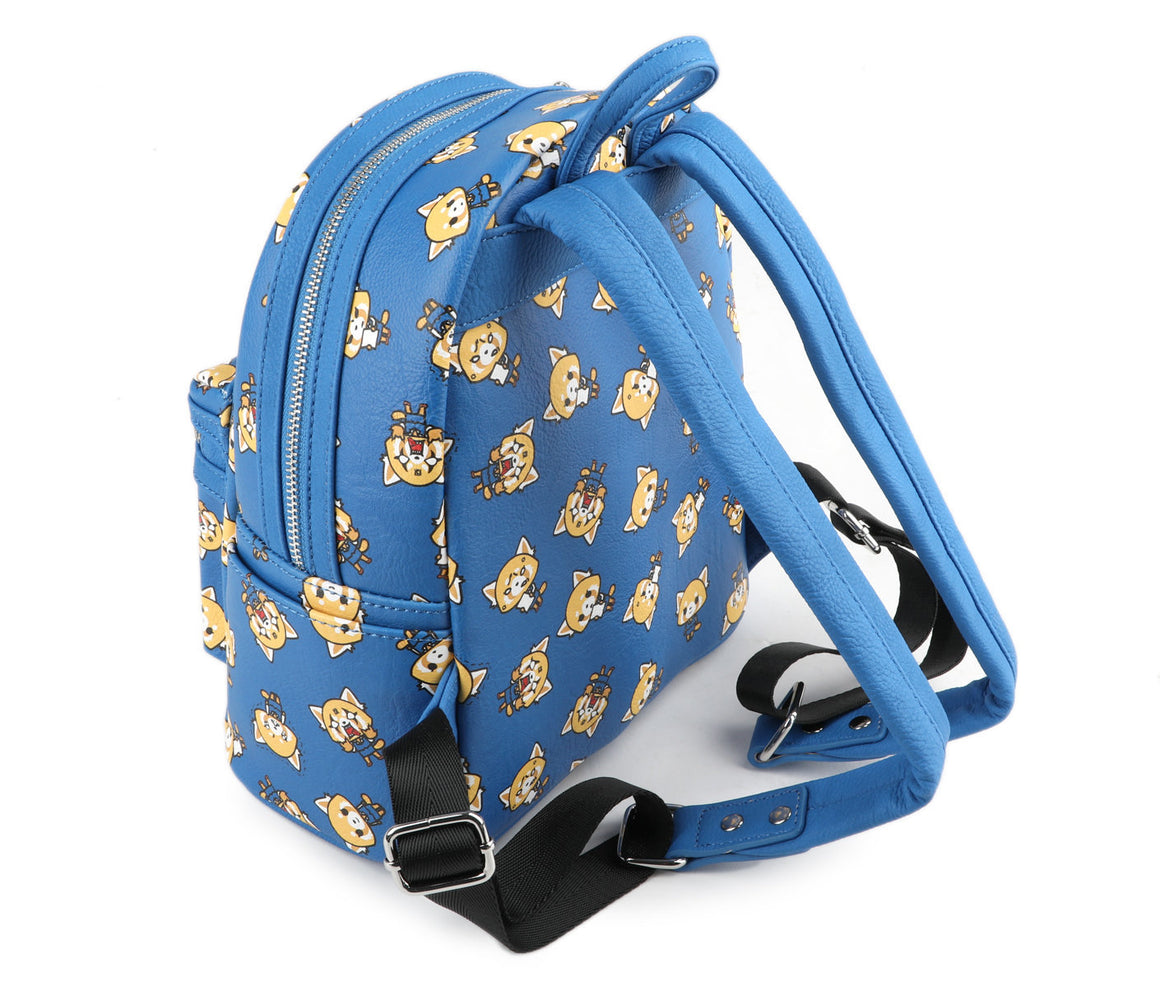 Loungefly X Sanrio Aggretsuko Mini Faux Leather Backpack - PIQ