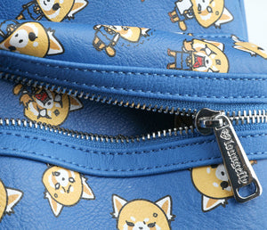 Loungefly X Sanrio Aggretsuko Mini Faux Leather Backpack