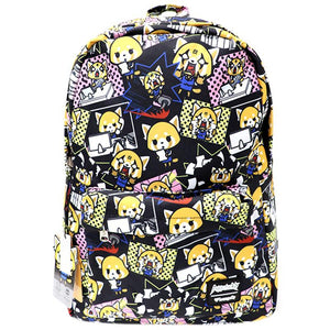 Loungefly X Sanrio Aggretsuko All Over Print Backpack