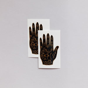 Tattly Mystic Hand Temporary Tattoos