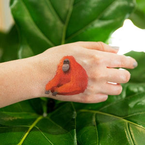 Tattly Orangutan Temporary Tattoos