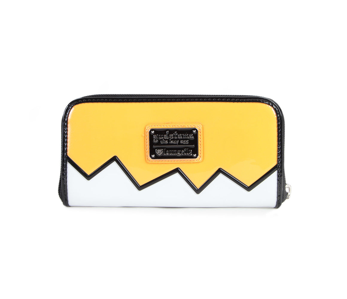 Sanrio x Loungefly Gudetama Face Long Wallet
