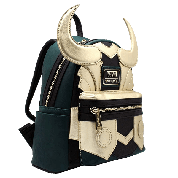 Loungefly x Marvel Loki Cosplay Mini Backpack