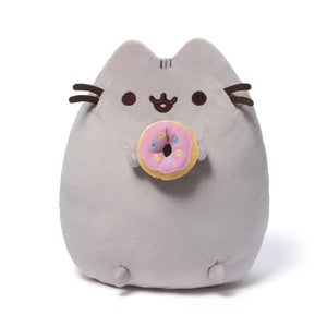 "Pusheen 9.5"" Frosted Pink Donut Plush"