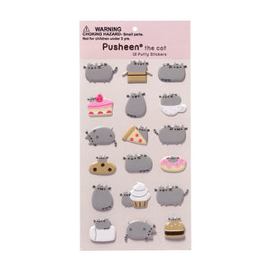 Pusheen the Cat Puffy Stickers