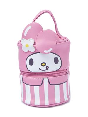 Hello Sanrio: My Melody Bento Lunchbox With Faux Leather Tote