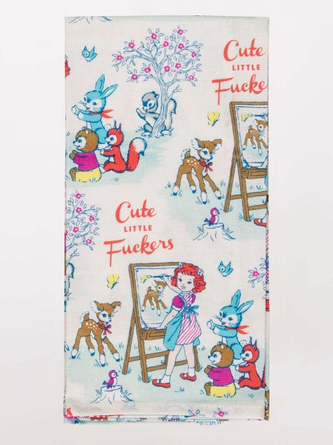 Cute Little F*ckers Dish Towel - PIQ