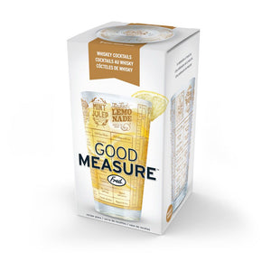 Good Measure Recipe Glass - Whiskey