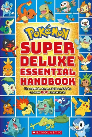 Pokemon Super Deluxe Essential Handbook - PIQ