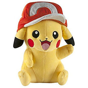 Pokemon Pikachu Plush with Ash's Hat