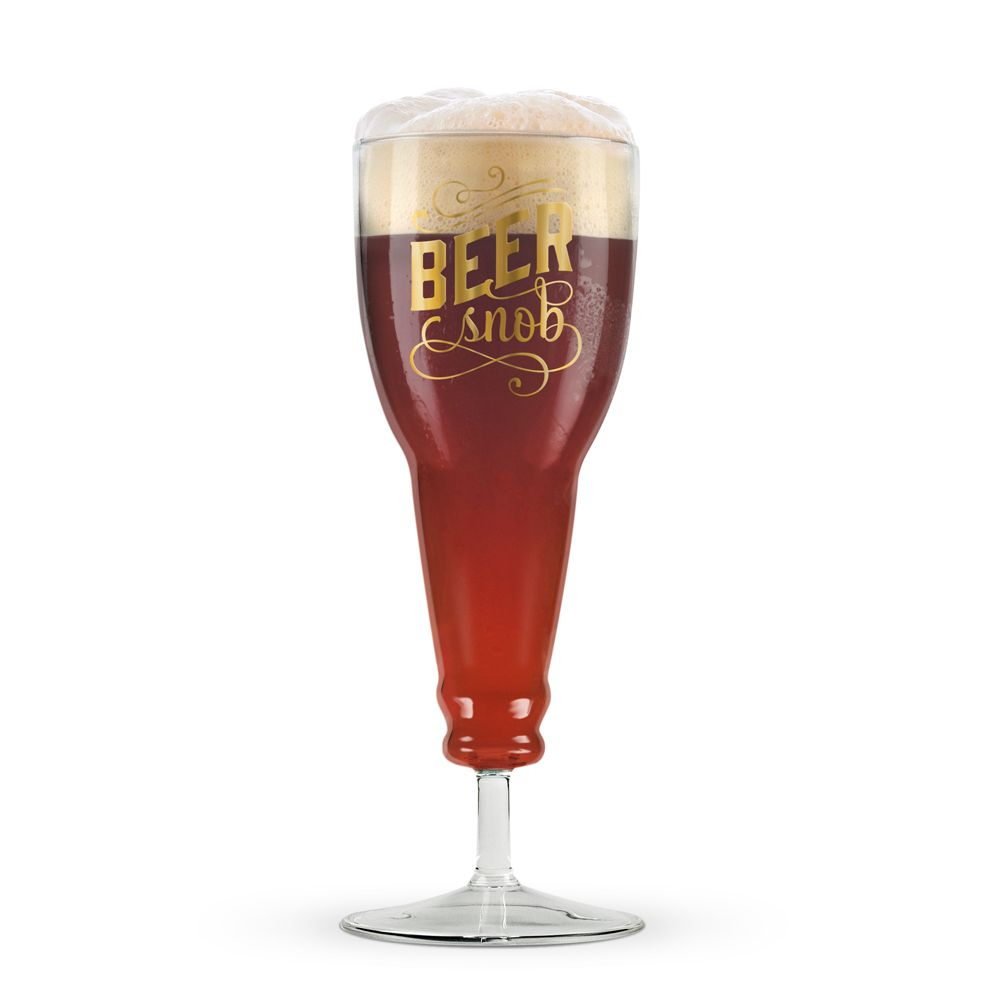 Beer Snob - Beer Glass micro brew pint