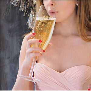 Fancy That - XL Champagne Glass wedding