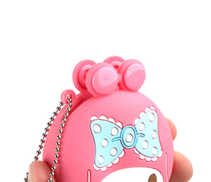 Sanrio My Melody Silicone Coin Purse Keychain