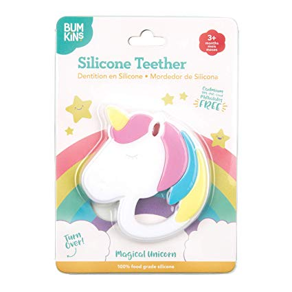 Unicorn Silicone Teether by Bumkins