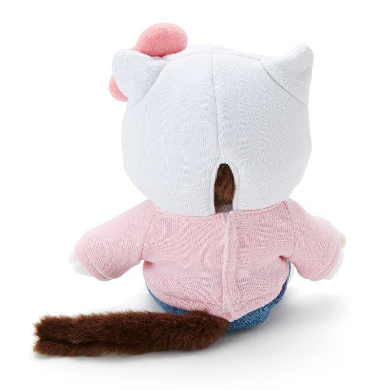 Sanrio x Sekiguchi: Hello Kitty Monchhichi Doll (Sitting) - PIQ