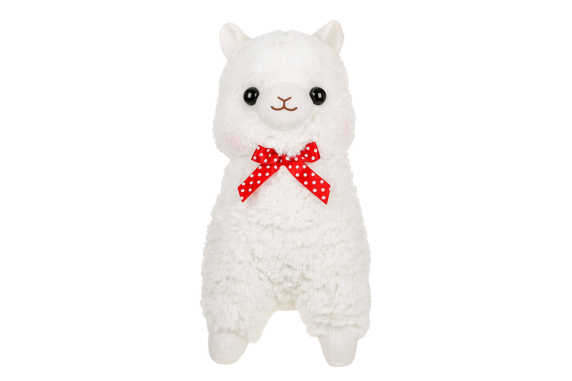 Plush White Alpaca Plush by Amuse