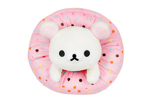 Korilakkuma Strawberry Donut Plush by San-X - PIQ