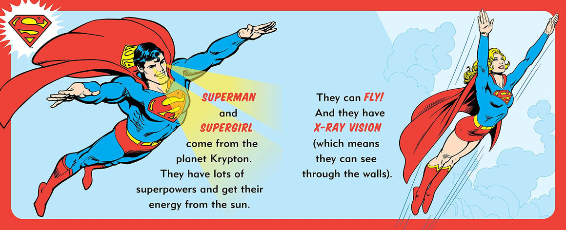 DC Super Heroes - My First Book of Superpowers Board Book