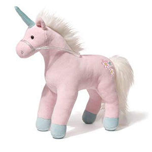 "Starflower Pink Unicorn 13"" Plush - PIQ"