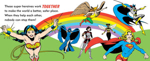 DC Super Heroes - My First Book of Girl Power - PIQ