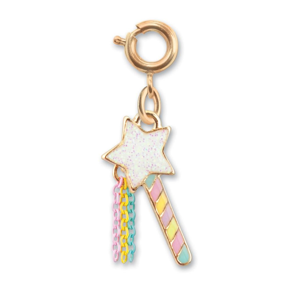 Charm It! Gold Magic Wand Charm