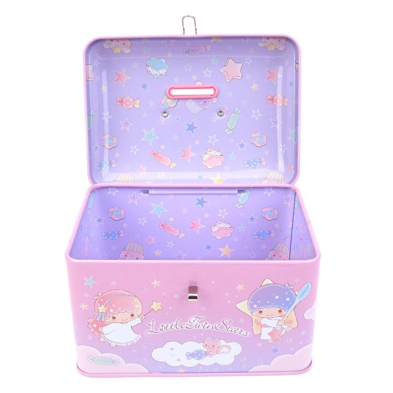 Sanrio Little Twin Stars Tin Coin Bank