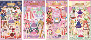 Stickers - Puffy Dolly Dolly Dress Up