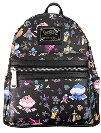Pokemon X Loungefly Ghost Type Mini Backpack