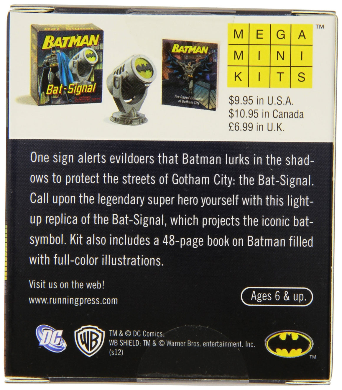 Batman: Bat Signal Mega Mini Kit - PIQ