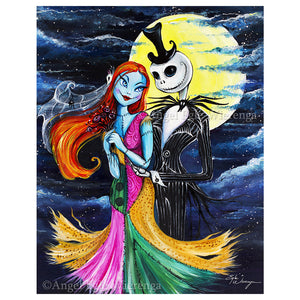 Jack and Sally Wedding by Angel Egle Wierenga