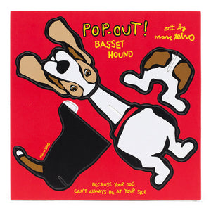 Marc Tetro Basset Hound Pop-Out!  by Marc Tetro - 1