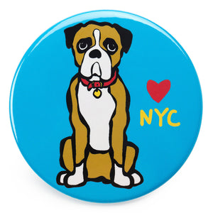 Marc Tetro NYC Boxer Magnet  by Marc Tetro