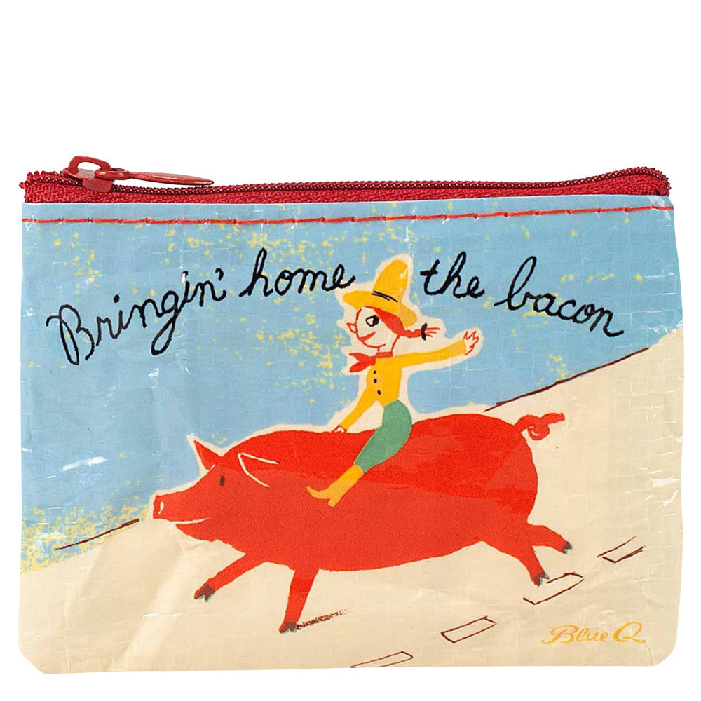 Bringing' Home The Bacon Coin Purse by Blue Q