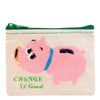 Change is Good Coin Purse by Blue Q