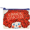 Financial Disaster Coin Purse by Blue Q