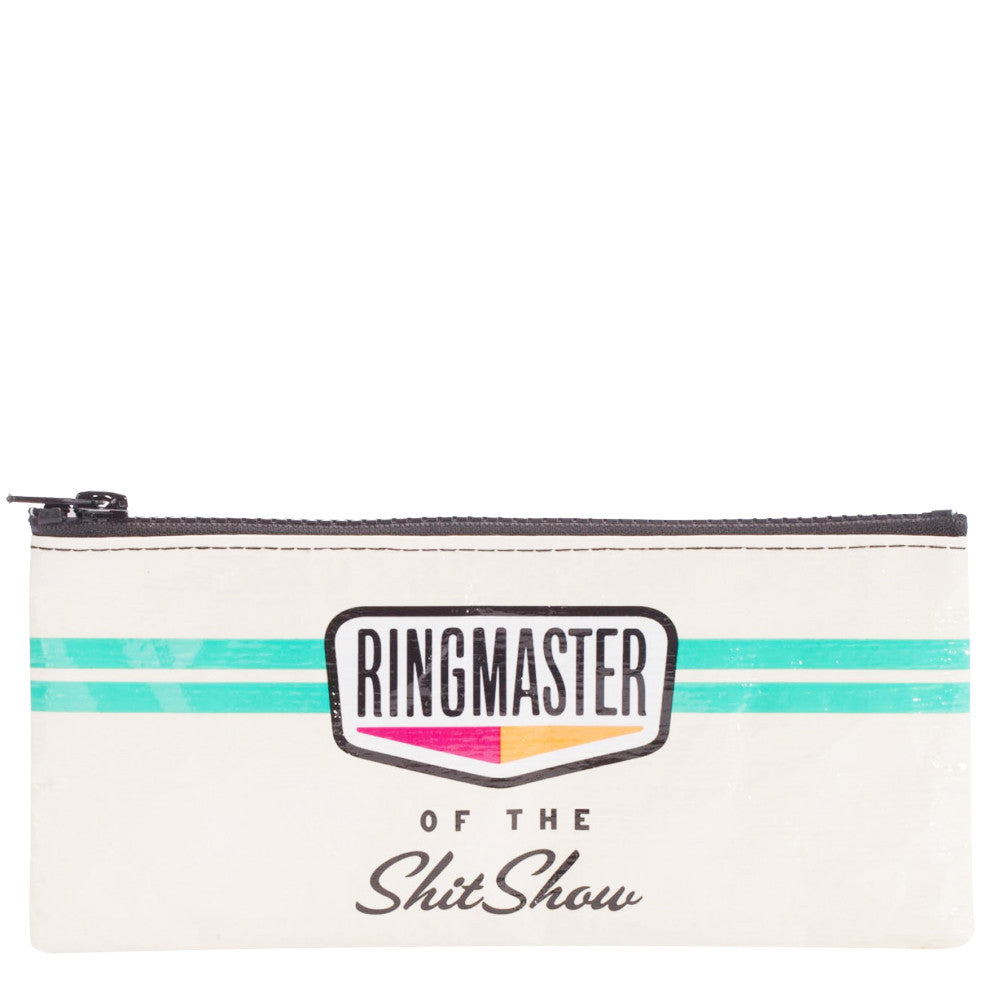 Ringmaster Of The Shitshow Pencil Case by Blue Q