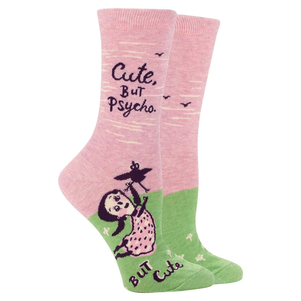 Cute But Psycho Socks  by Blue Q
