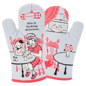 This Is F*cking Delicious Oven Mitt