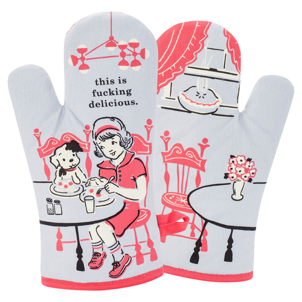 This Is F*cking Delicious Oven Mitt - PIQ