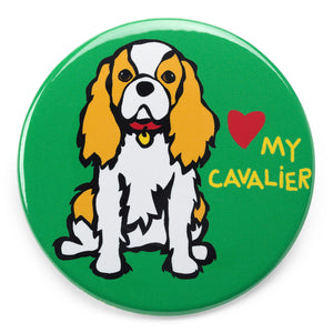 Marc Tetro Love My Cavalier King Charles Magnet  by Marc Tetro