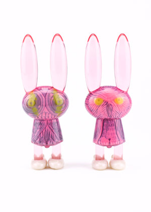 Peter Kato x Dethchops Limited Edition Night Owl Mothman Bedtime Bunnie Resin