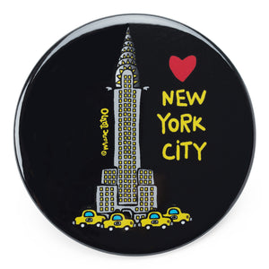 Marc Tetro NYC Chrysler Building Magnet  by Marc Tetro