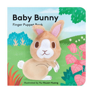Baby Bunny: Finger Puppet Board Book Cover